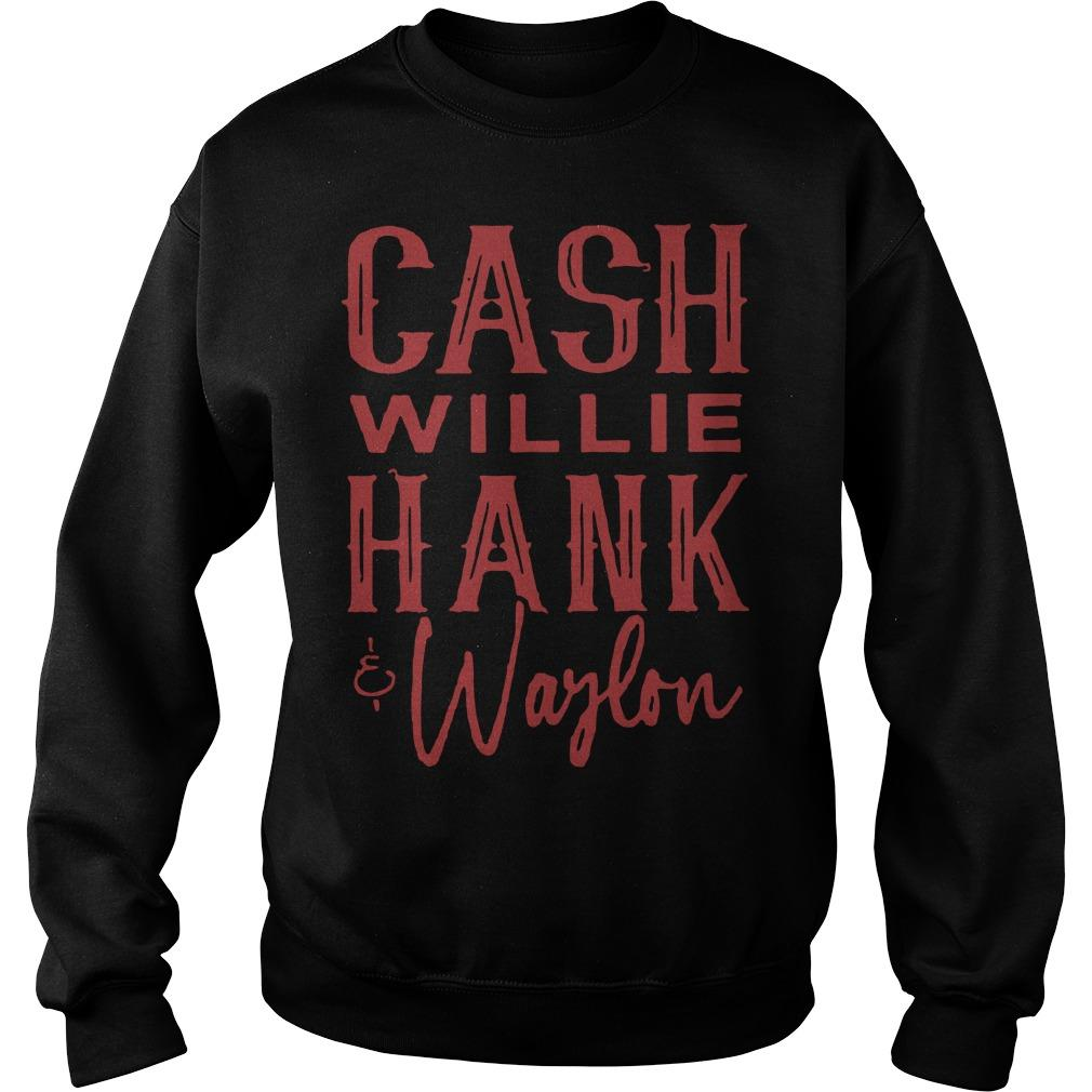 Cash Willie Hank Waylon Sweater