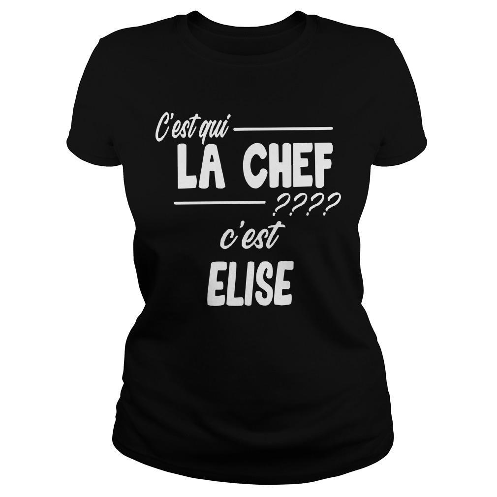 C'est Qui La Chef C'est Elise Longsleeve