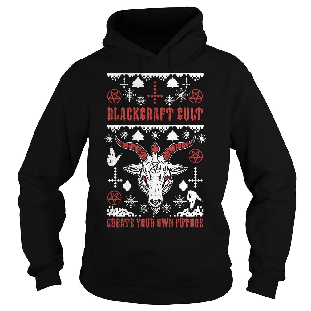 Christmas Blackcraft Cult Create Your Own Future Hoodie