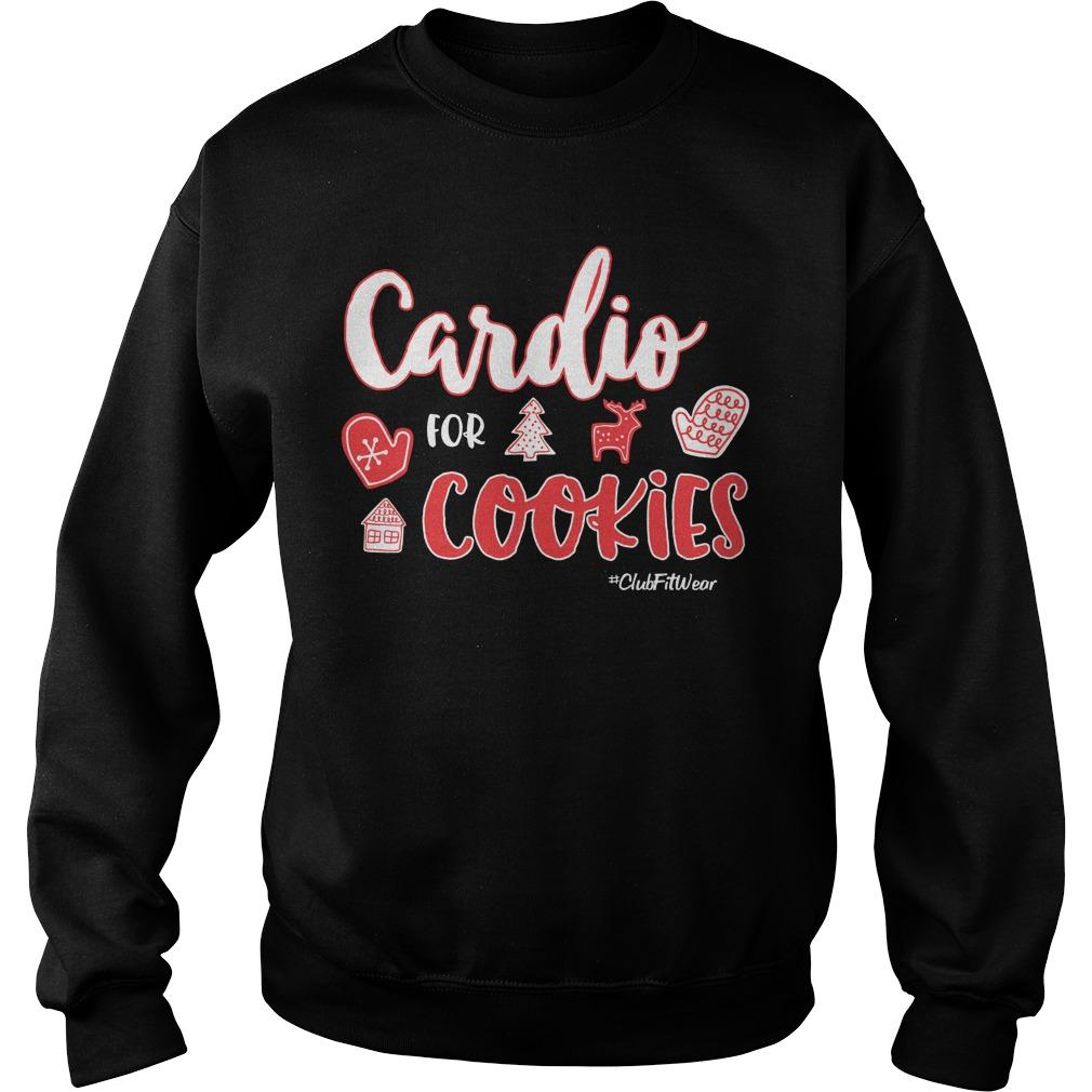 Christmas Cardio For Cookies Sweater