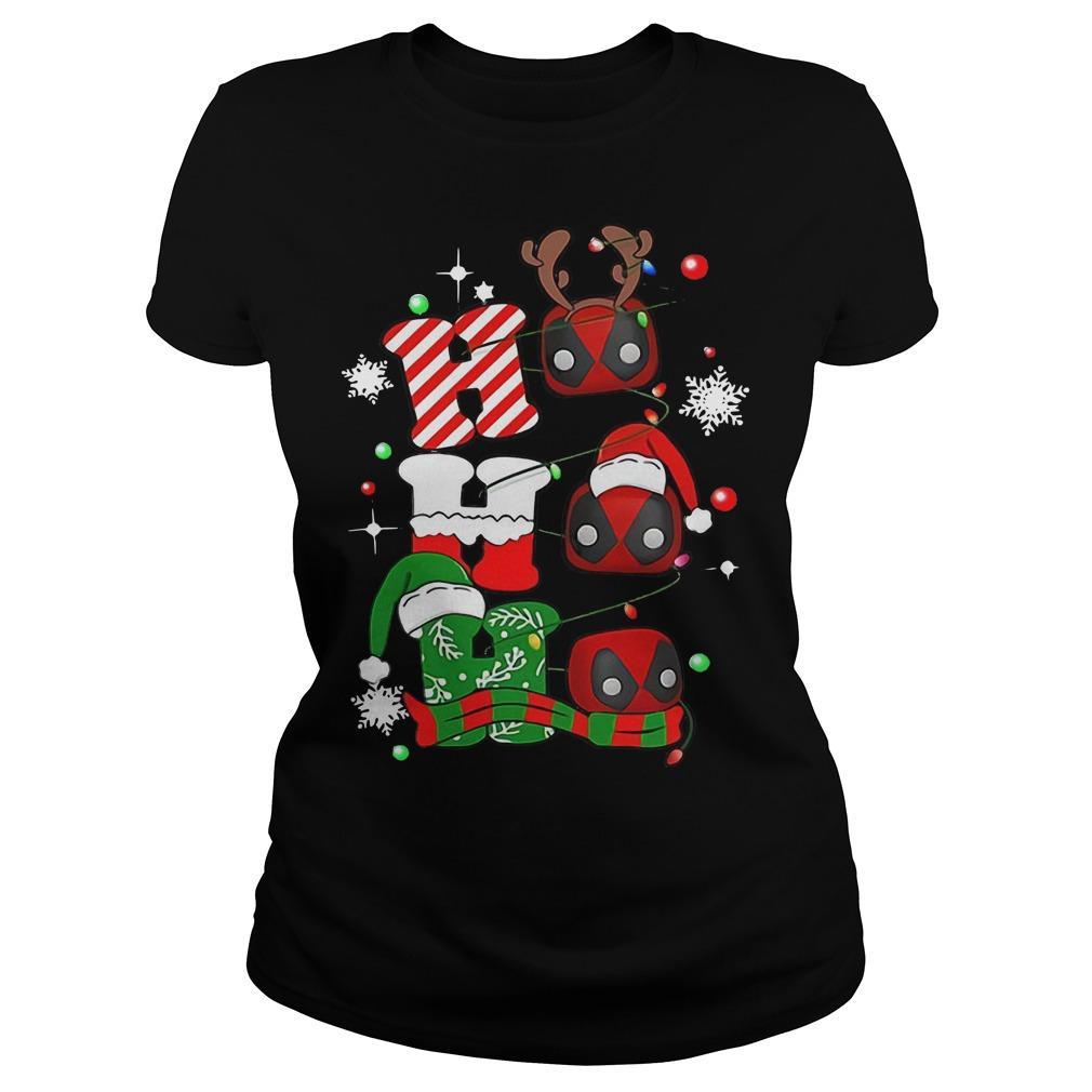 Christmas Deadpool Ho Ho Ho Longsleeve