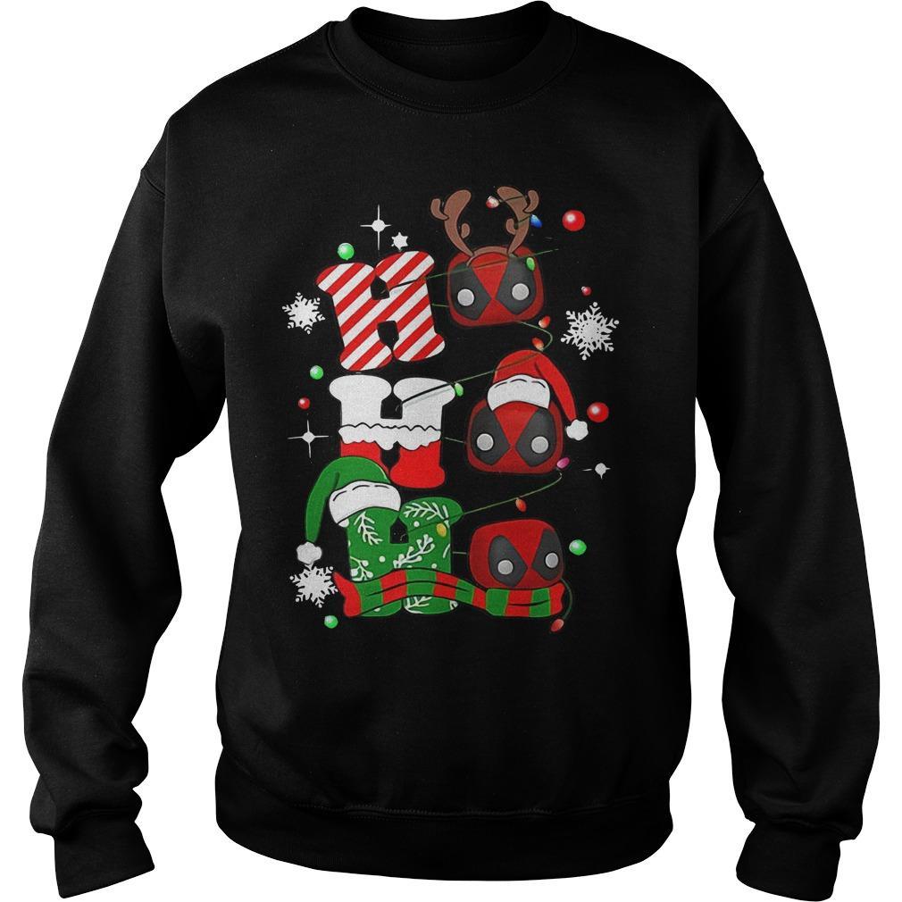Christmas Deadpool Ho Ho Ho Sweater
