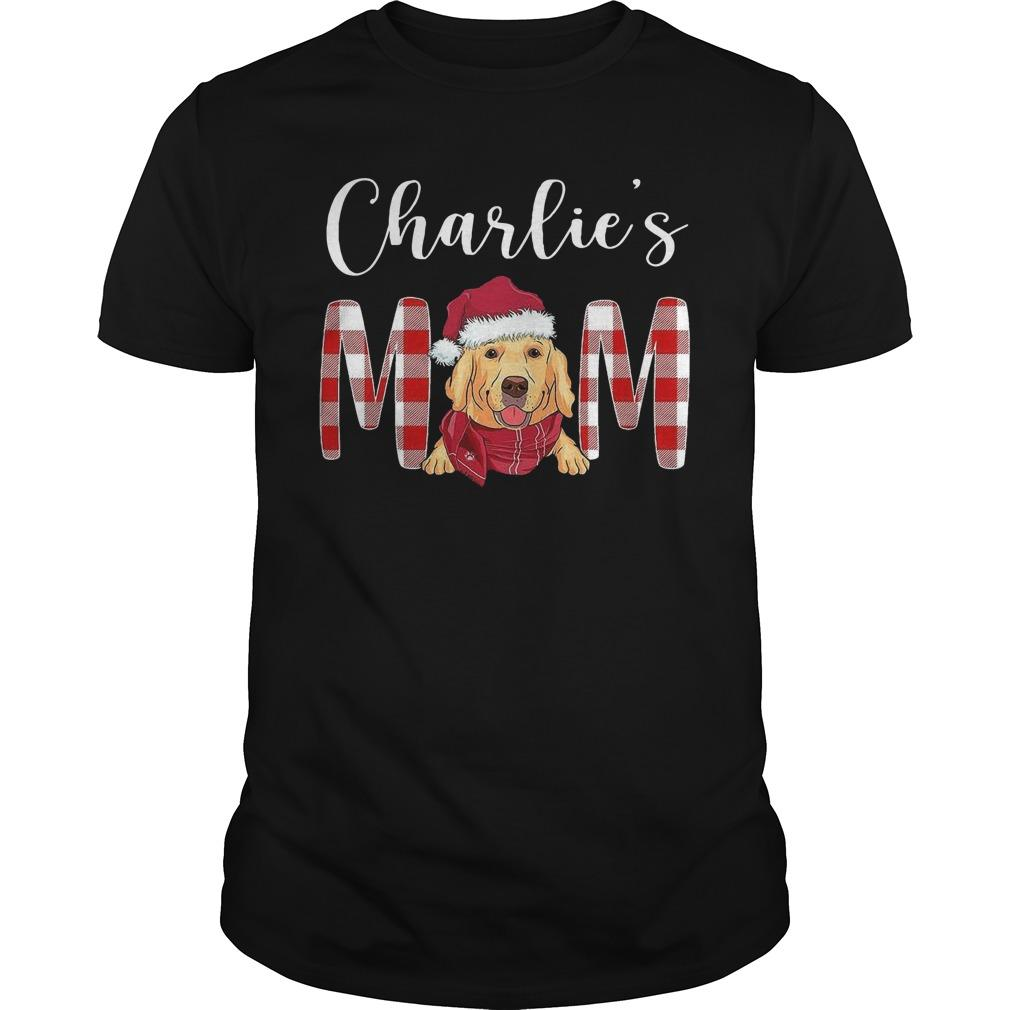 Christmas Golden Retriever Charlie's Mom Longsleeve