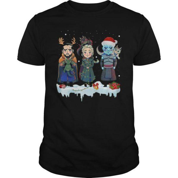 Christmas Jon Snow Daenerys Night King Shirt