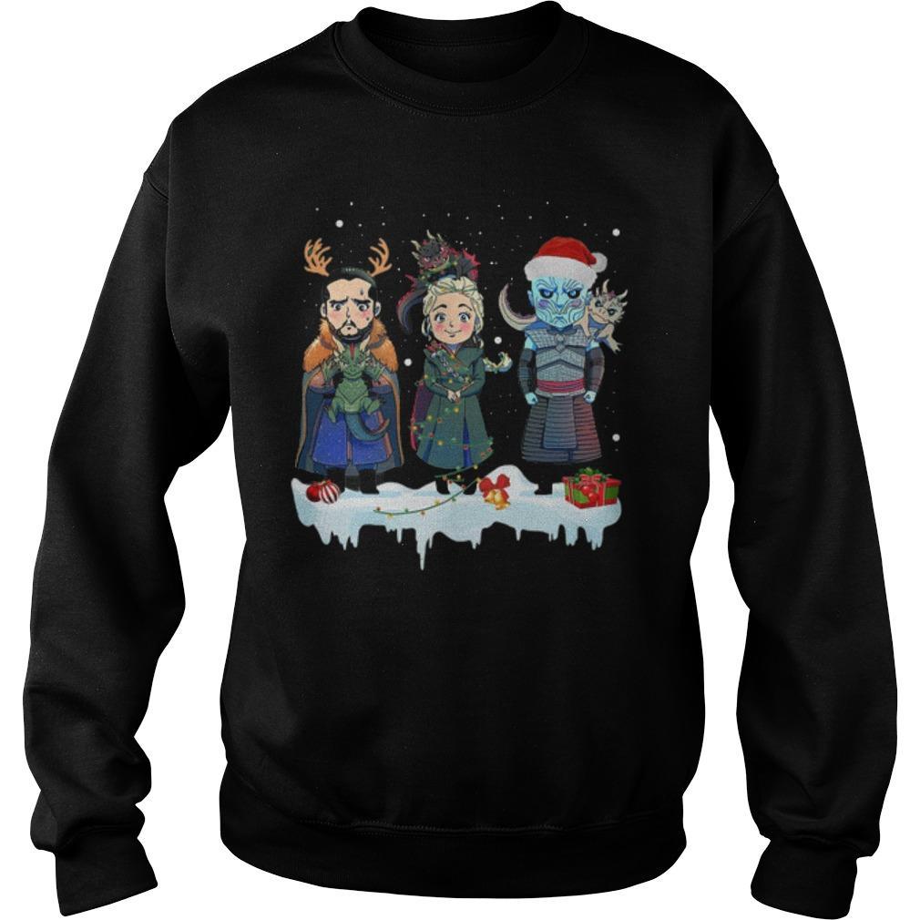 Christmas Jon Snow Daenerys Night King Sweater