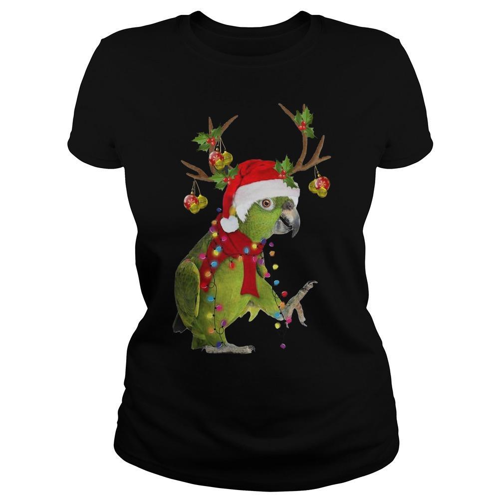 Christmas Parrot Reindeer Longsleeve