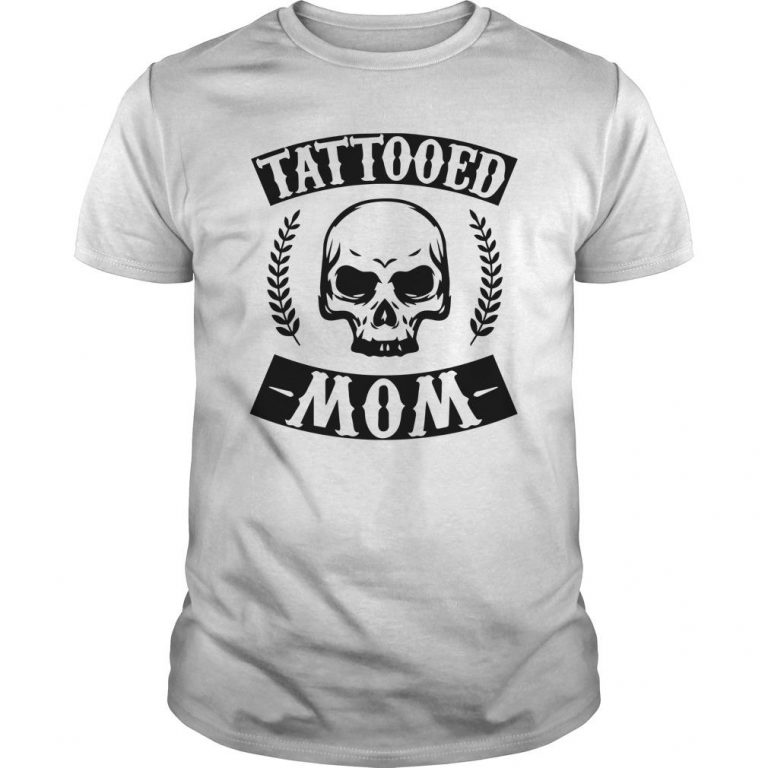 Christmas Skull Tattooed Mom Shirt