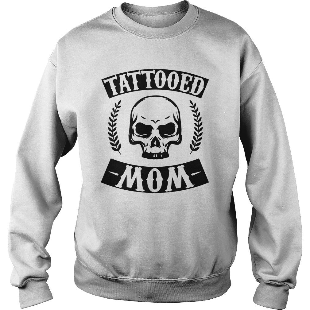 Christmas Skull Tattooed Mom Sweater