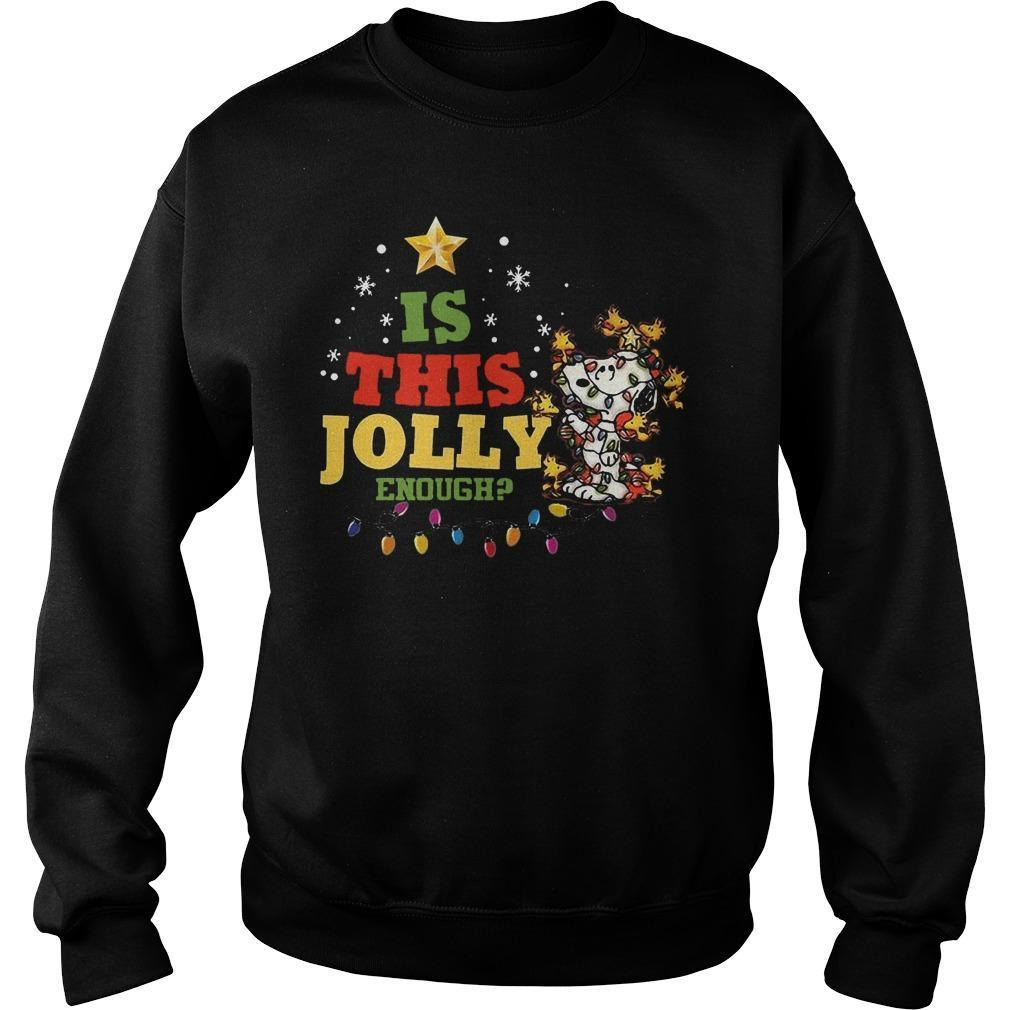 Christmas Snoopy Is This Jolly Enough Sweater