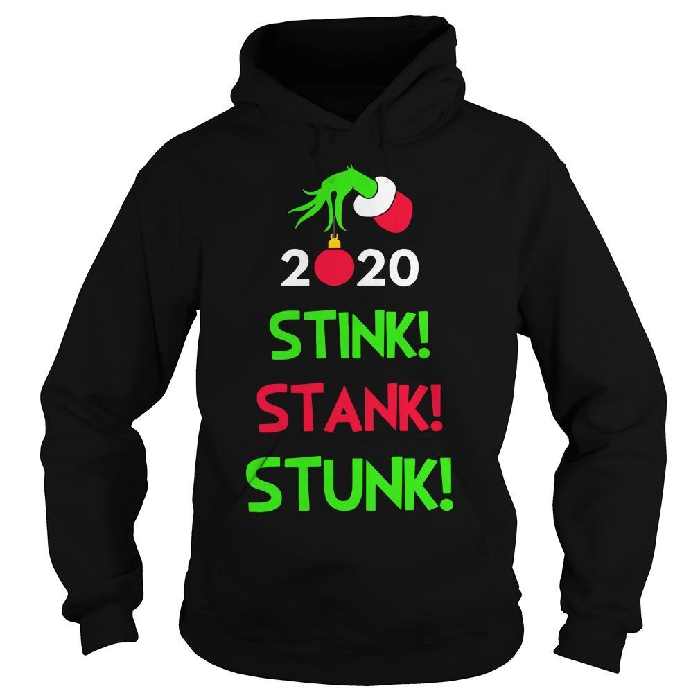 Christmas Stink Stank Stunk Hoodie