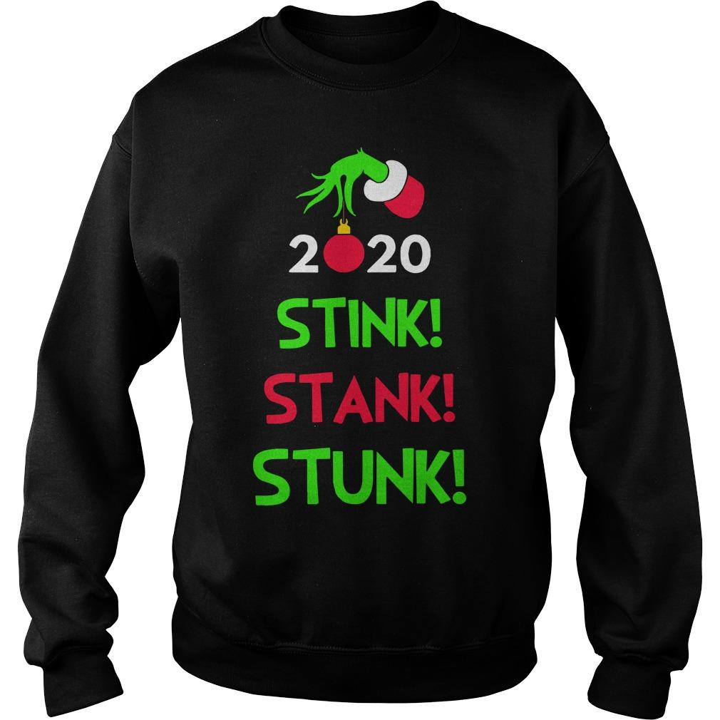 Christmas Stink Stank Stunk Sweater