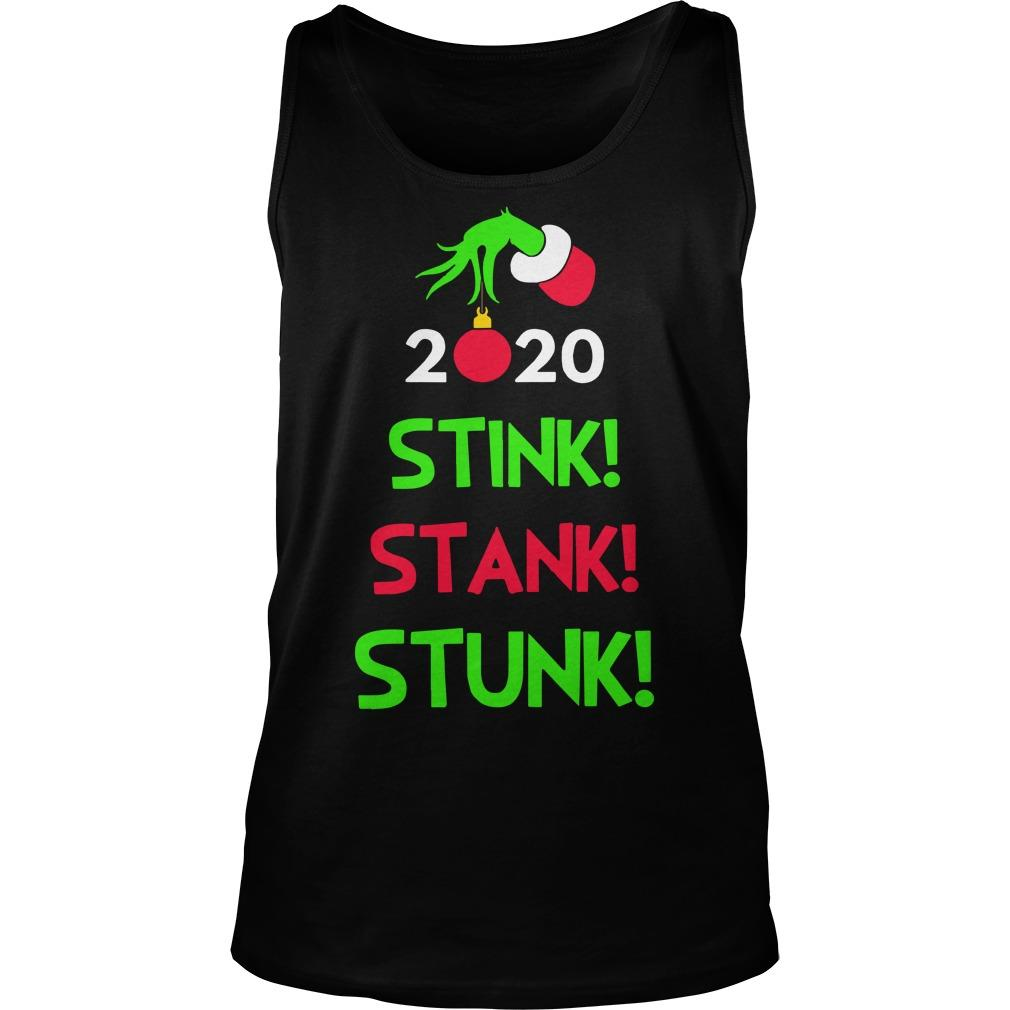 Christmas Stink Stank Stunk Tank Top
