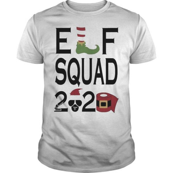 Christmas Toilet Paper Elf Squad 2020 Shirt