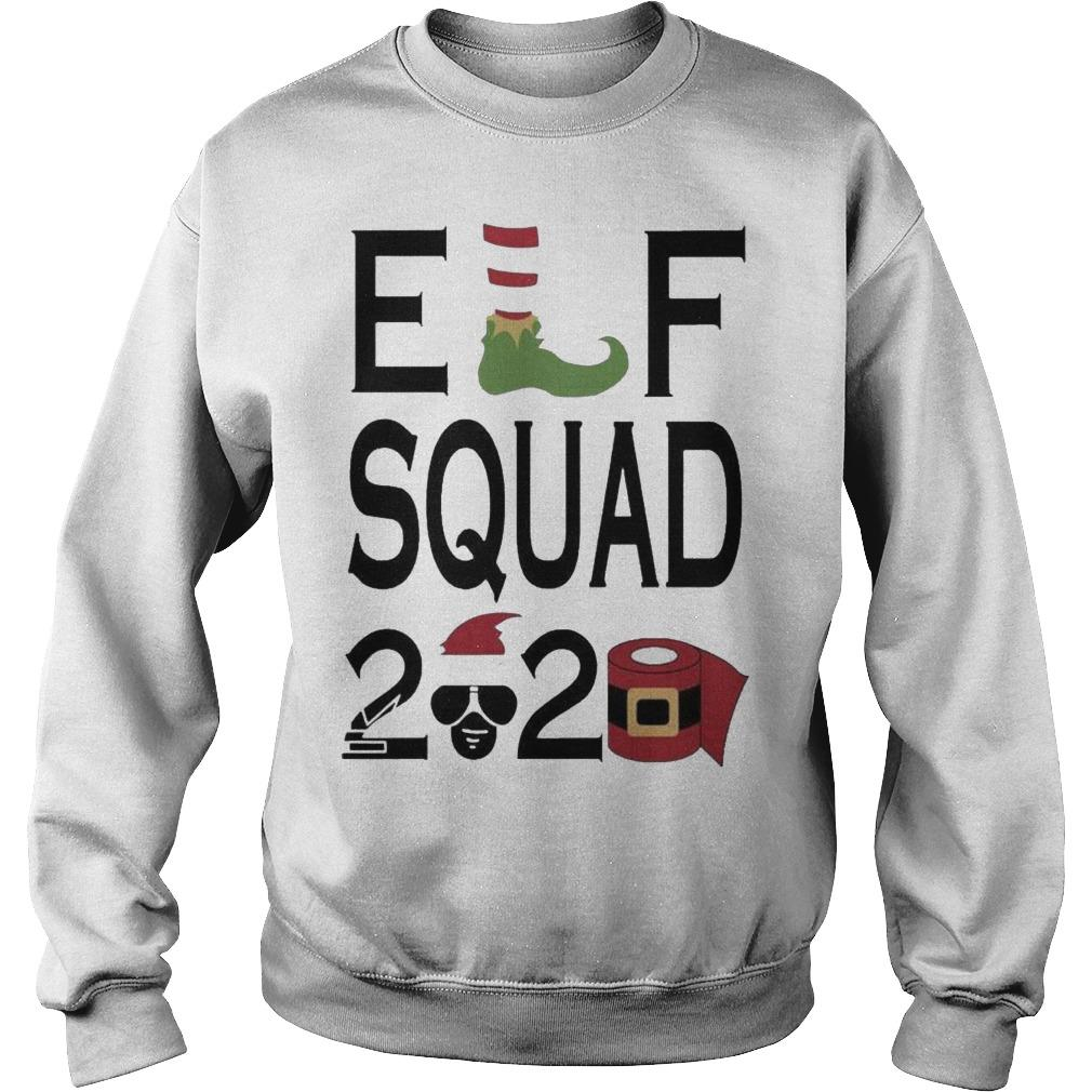 Christmas Toilet Paper Elf Squad 2020 Sweater