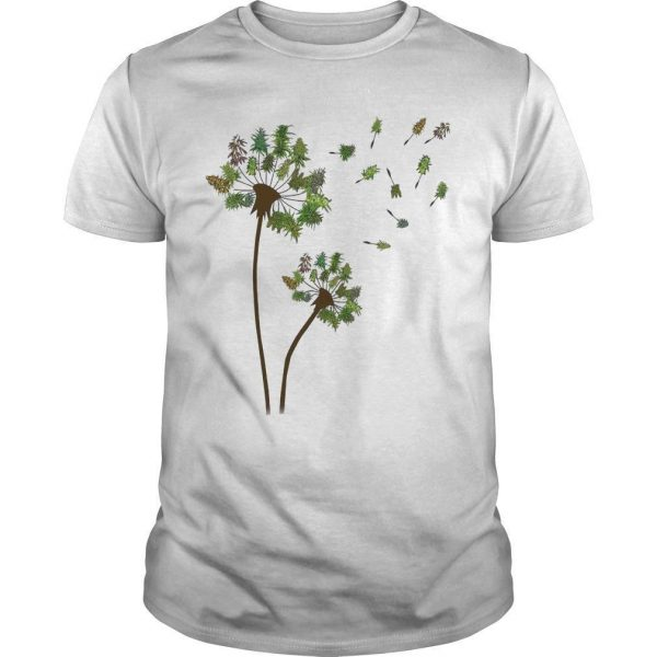 Christmas Tree Dandelion Shirt