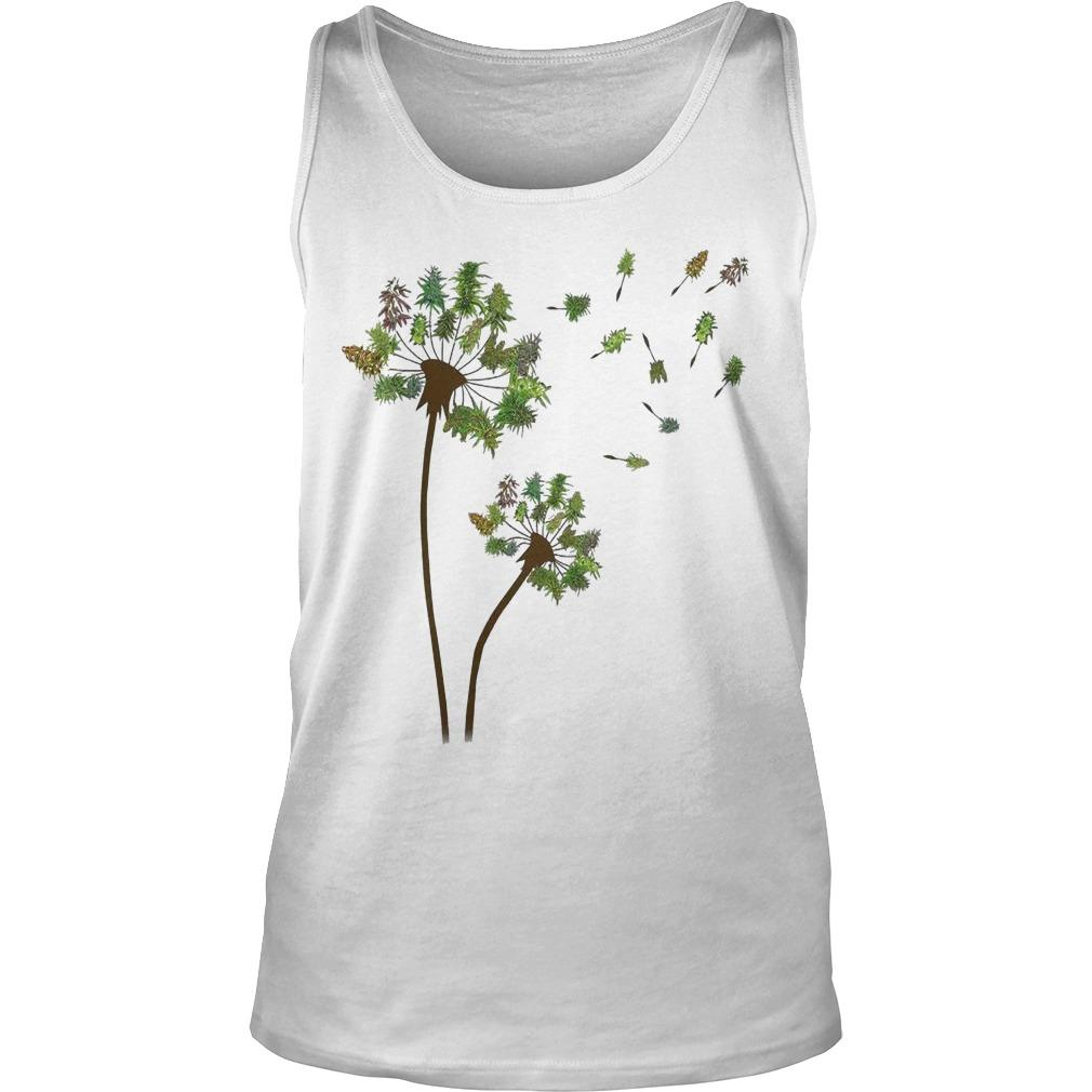Christmas Tree Dandelion Tank Top