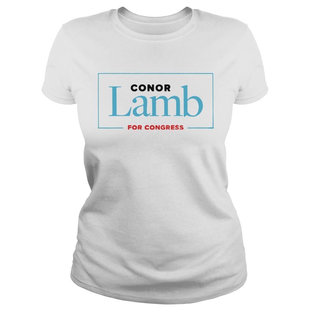 Conor Lamb For Congress Longsleeve