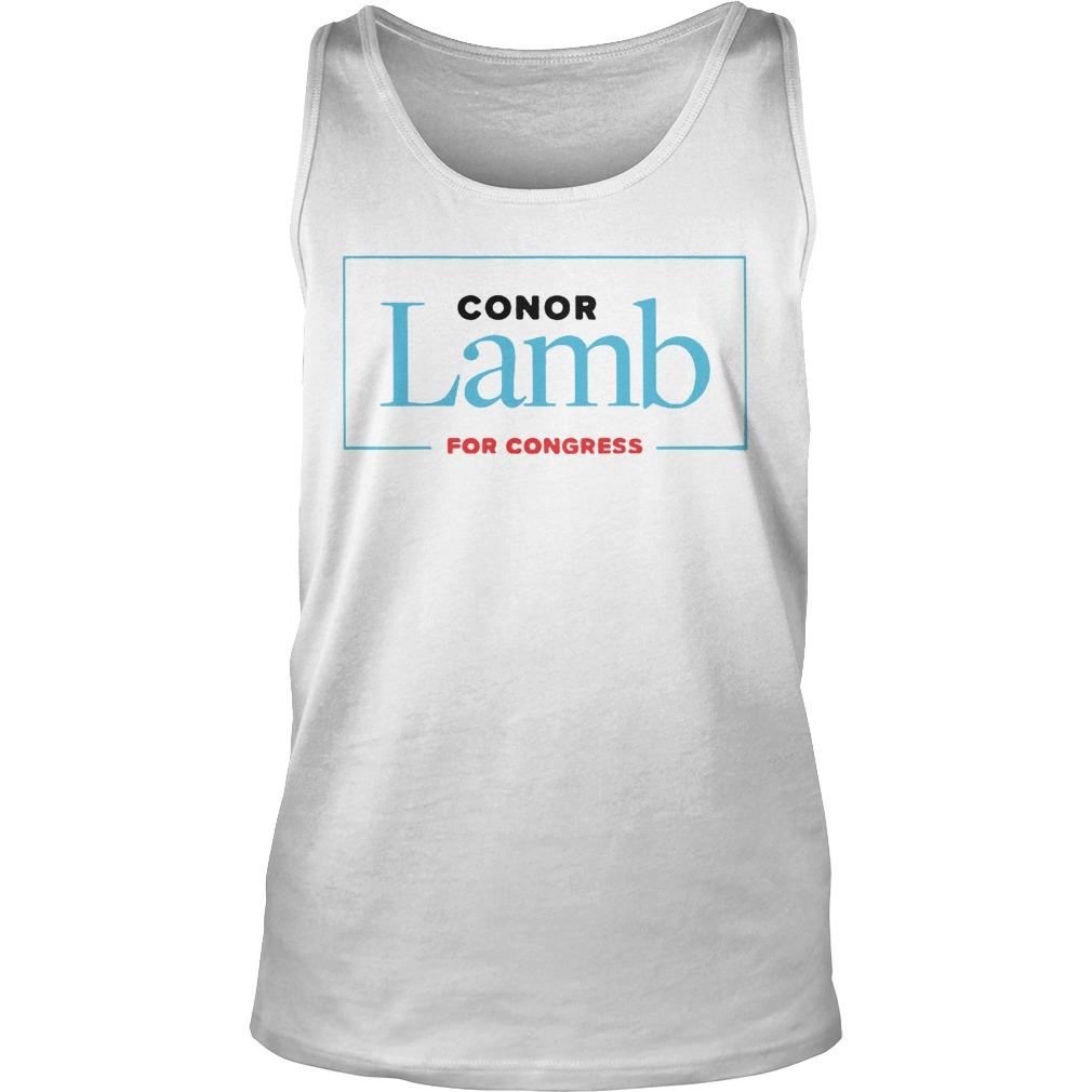 Conor Lamb For Congress Tank Top