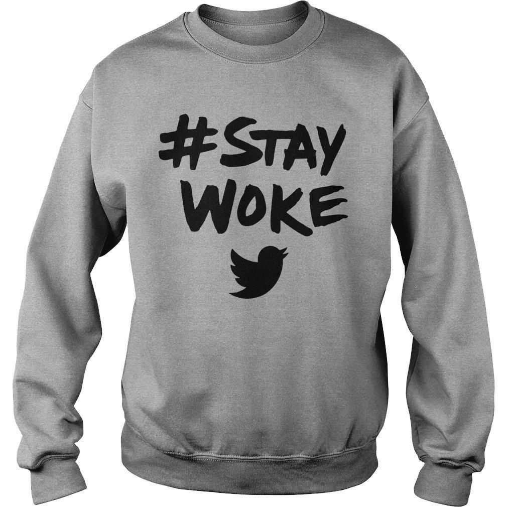 Deray Mckesson Stay Woke Sweater