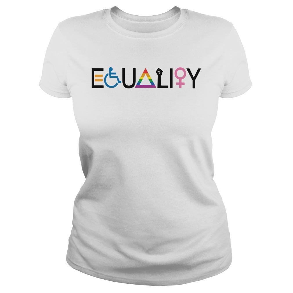 Disability Lgbt Women Equality Symbol Longsleeve