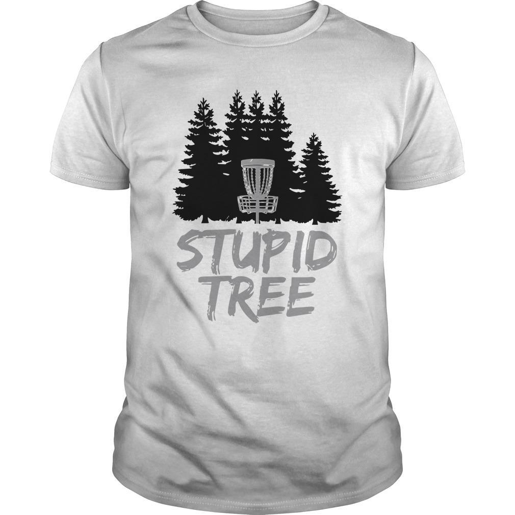Disc Golf Stupid Tree Longsleeve