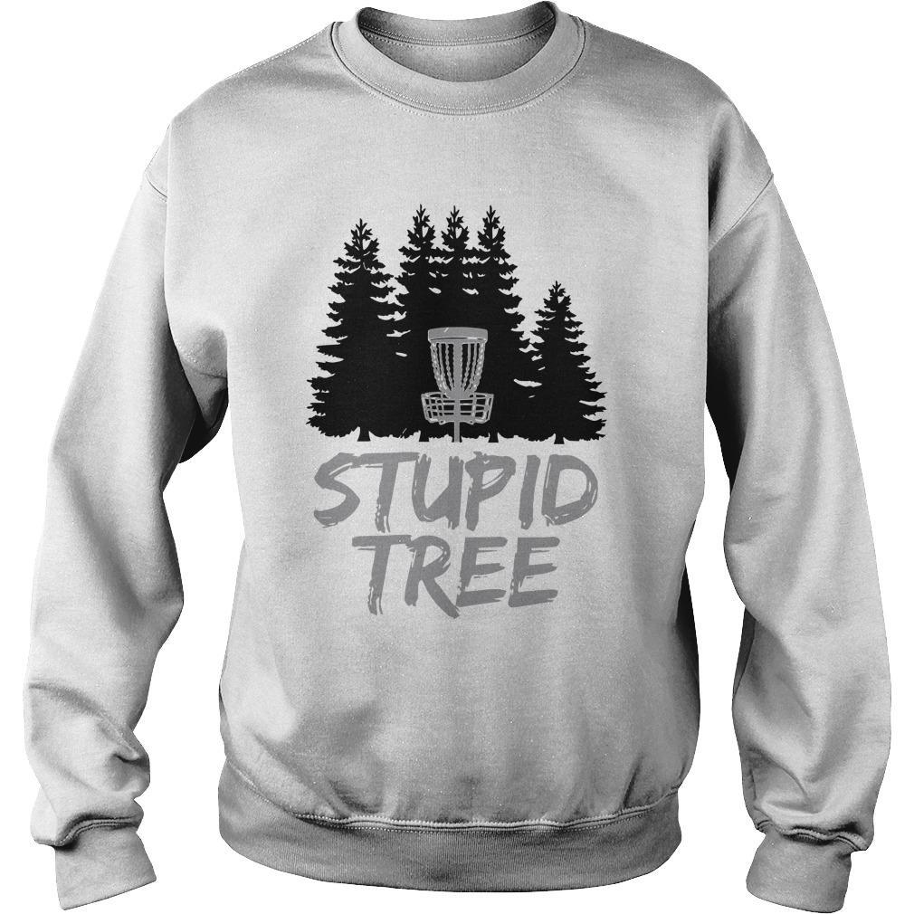 Disc Golf Stupid Tree Sweater