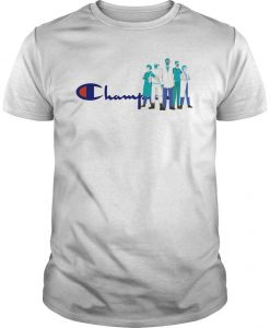 Doctor And Nurse We Are The Champions Shirt