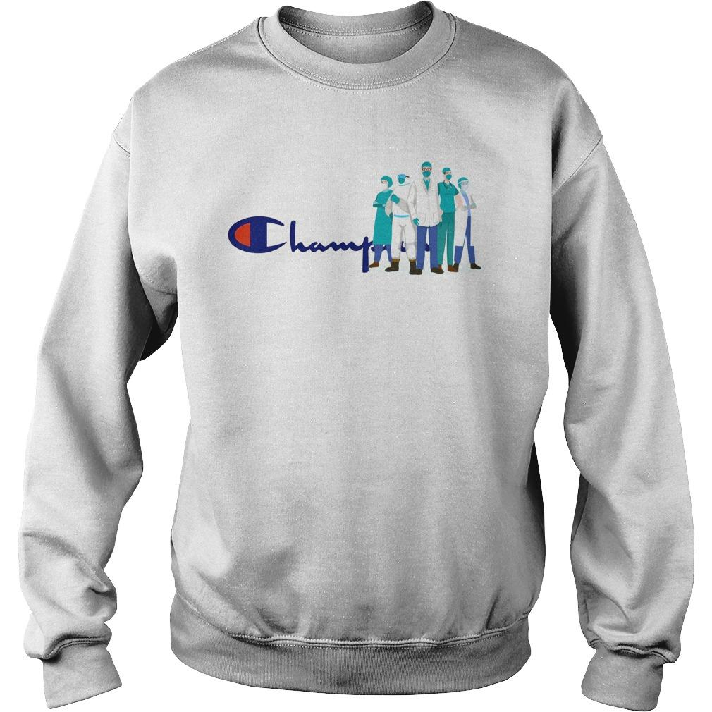 Doctor And Nurse We Are The Champions Sweater