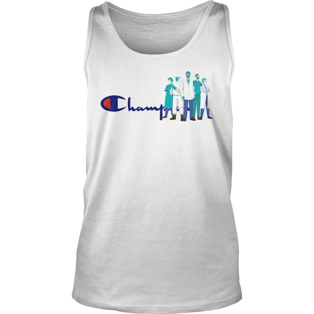 Doctor And Nurse We Are The Champions Tank Top