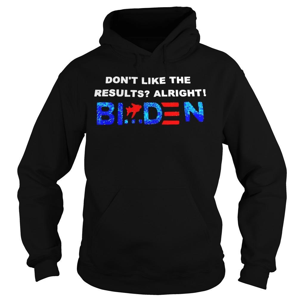 Don't Like The Results Alright Biden Hoodie