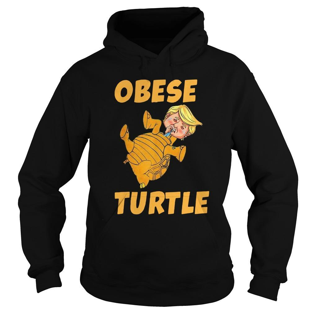 Donald Trump Obese Turtle Hoodie