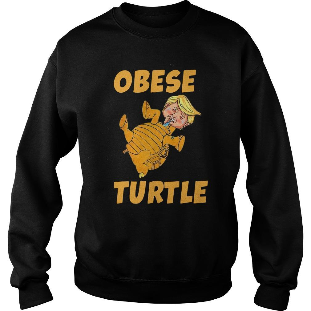 Donald Trump Obese Turtle Sweater