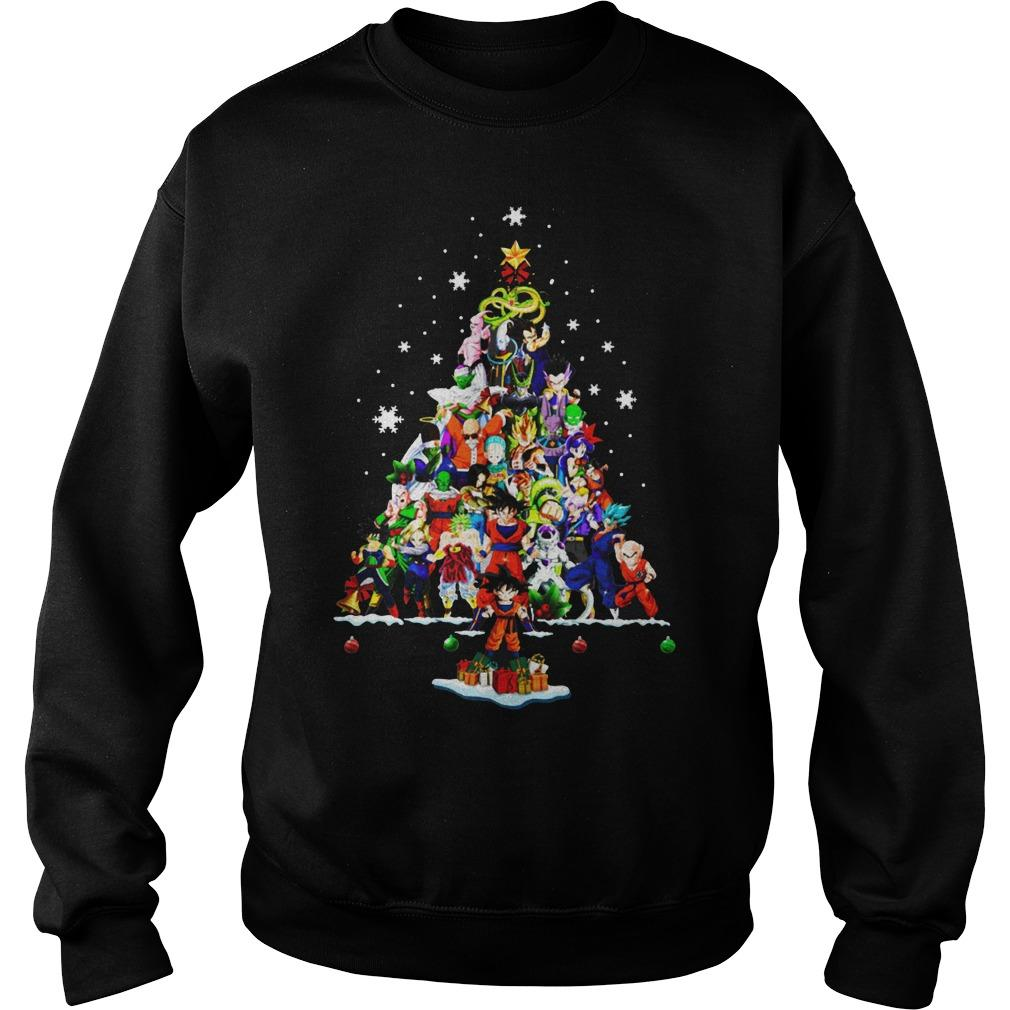 Dragon Ball Christmas Tree Sweater