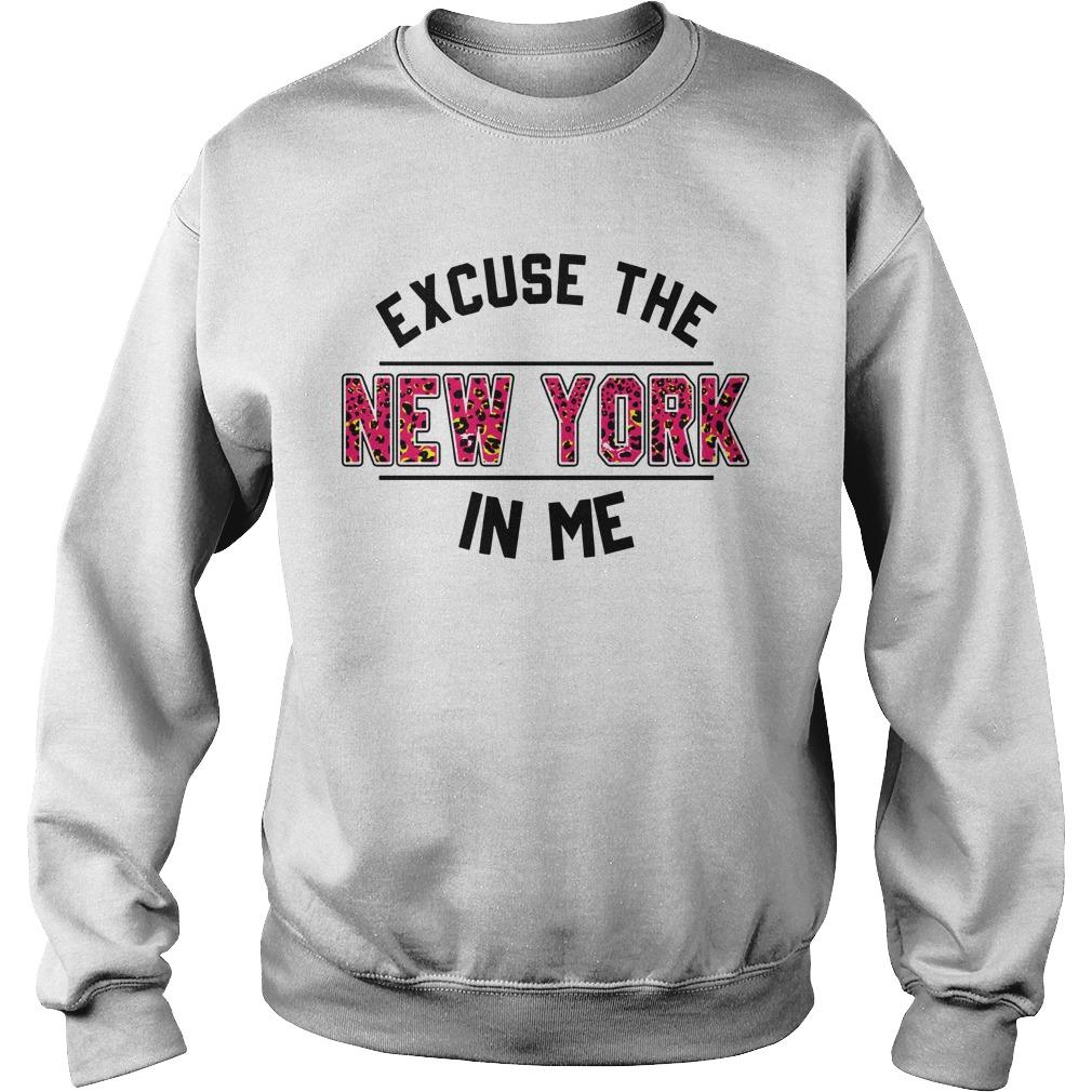 Excuse The New York In Me Sweater