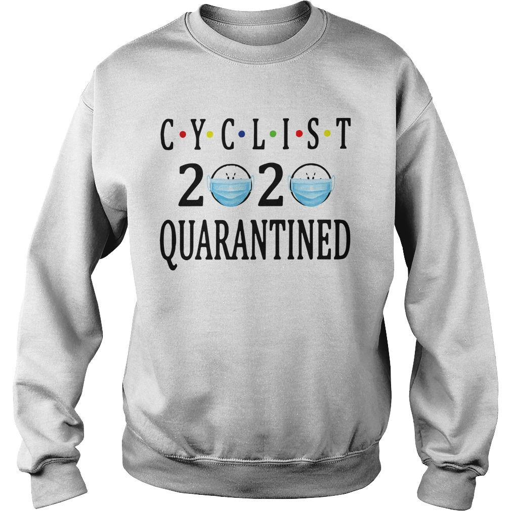 Face Mask Cyclist 2020 Quarantined Sweater