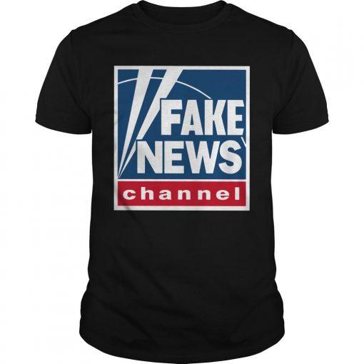 Fake News Channel Shirt