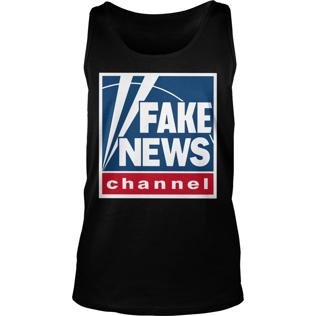 Fake News Channel Tank Top