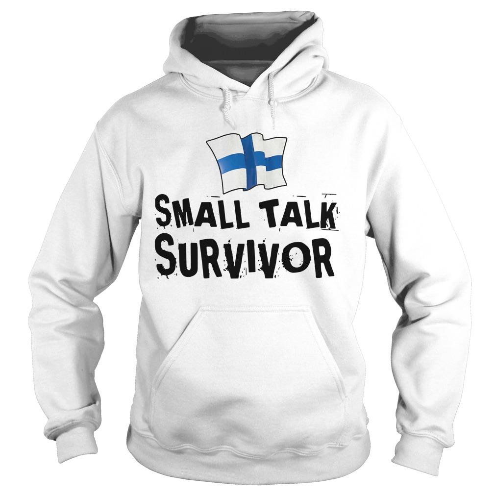 Finnish Small Talk Survivor Hoodie