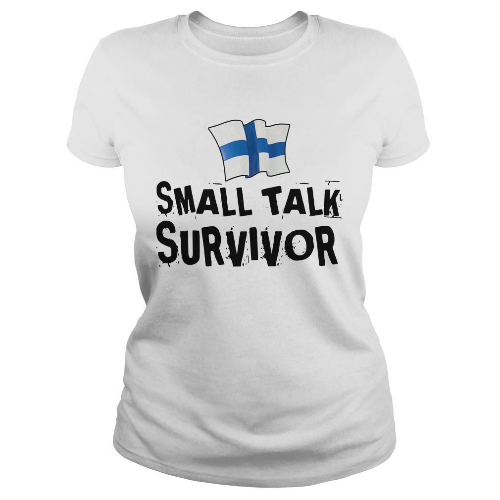 Finnish Small Talk Survivor Longsleeve