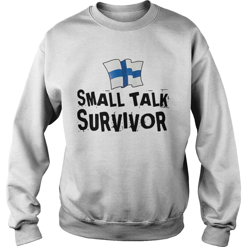 Finnish Small Talk Survivor Sweater
