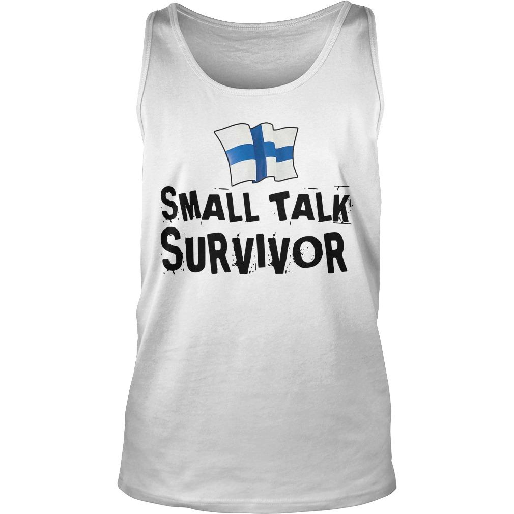 Finnish Small Talk Survivor Tank Top