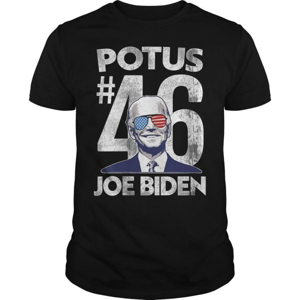 Glasses Usa Potus 46 President Joe Biden Shirt