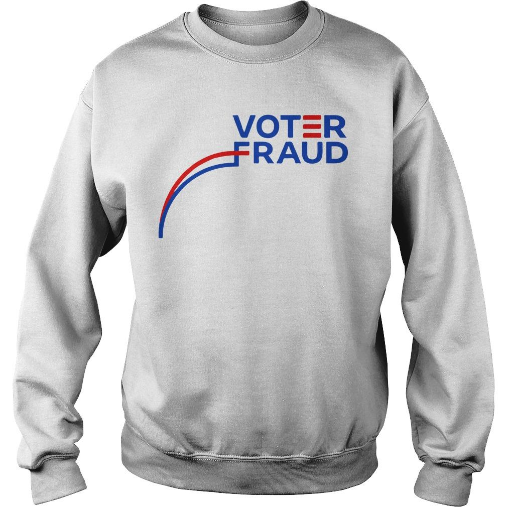 Graph Election Voter Fraud Sweater