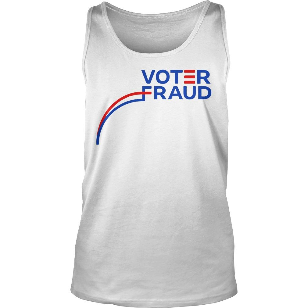 Graph Election Voter Fraud Tank Top