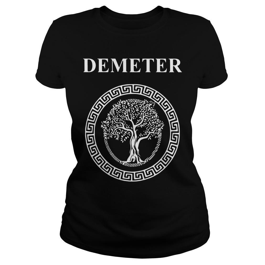 Greek Goddess Of Fertility Growth And Life Demeter Longsleeve