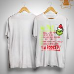 Grinch My Day Wallow In Self Pity Stare Into The Abyss Shirt
