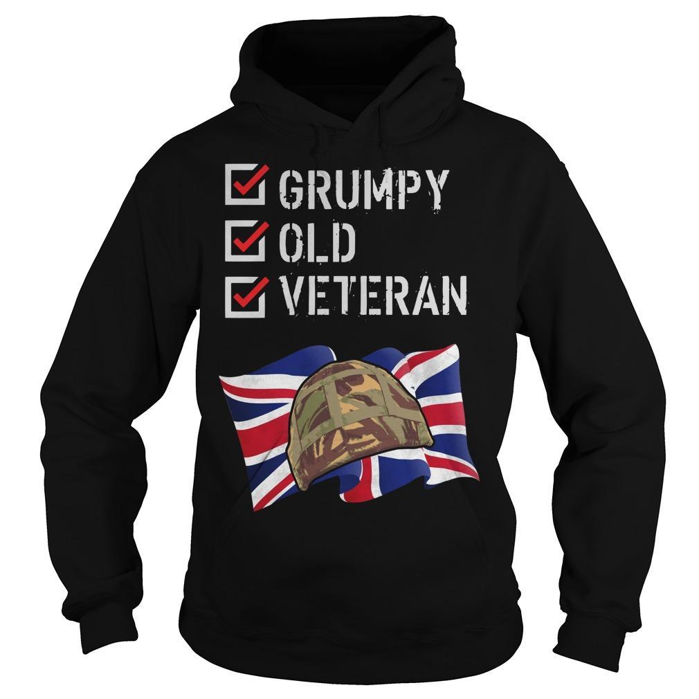 Grumpy Old Veteran Hoodie