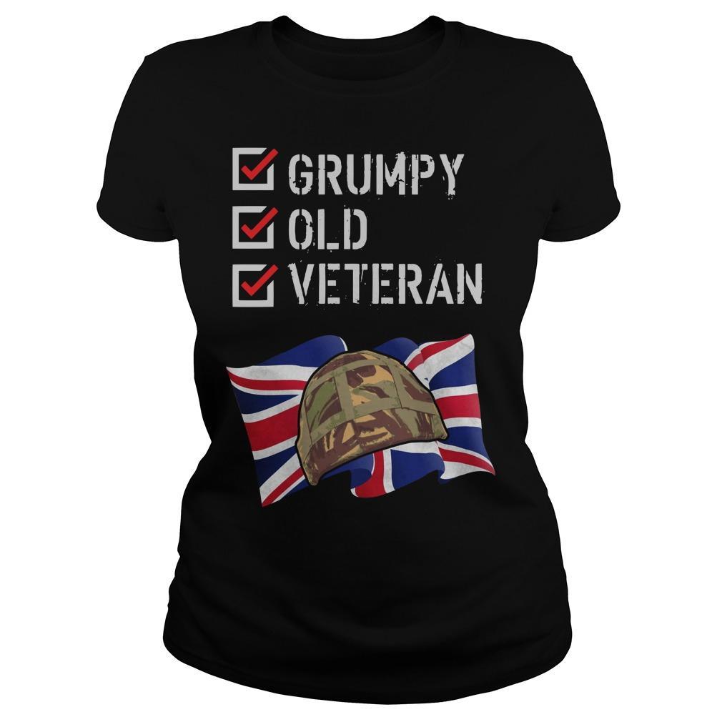 Grumpy Old Veteran Longsleeve