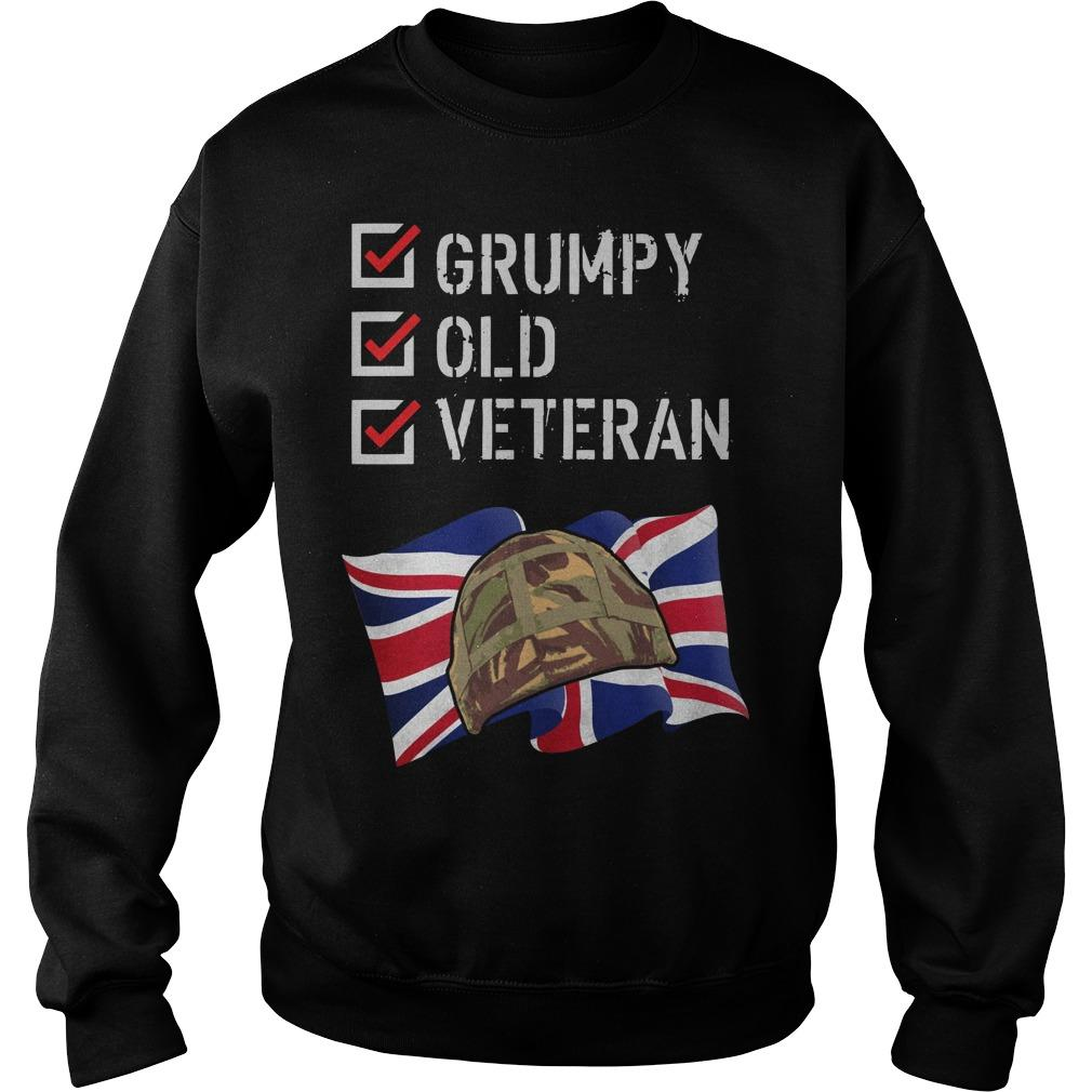 Grumpy Old Veteran Sweater