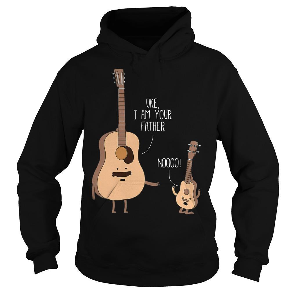 Guitar Uke I Am Your Father Noooo Hoodie